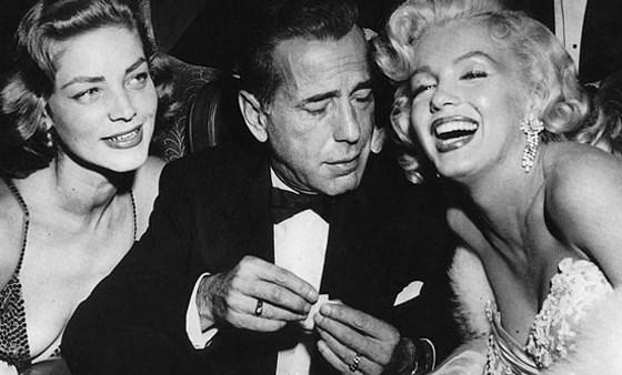 Bow tie Nights - Bacall - Bogart - Monroe