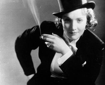 Le Smoking - Marlene Dietrich