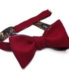 Garnet & Paisley Bow Tie