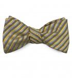 Striped Silk Bow Tie